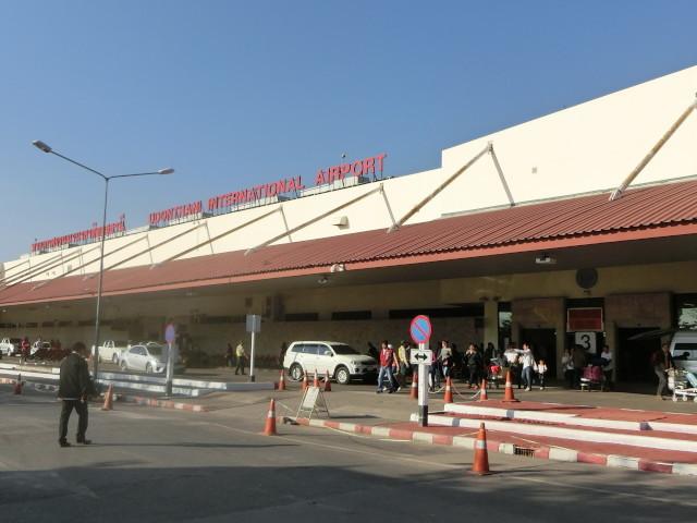 バンコクの空港から1時間!発着便も増えたウドンタニー空港はイサーンで1番?